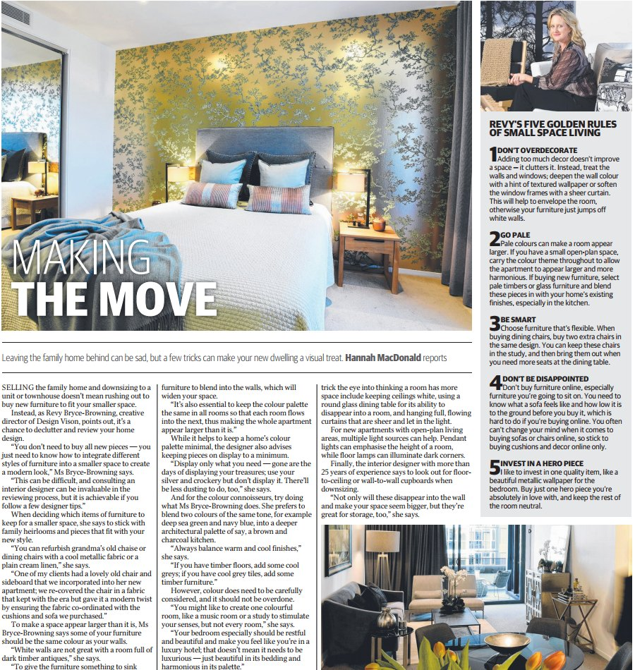 The Sunday Mail – Design Vision's Latest Press Story