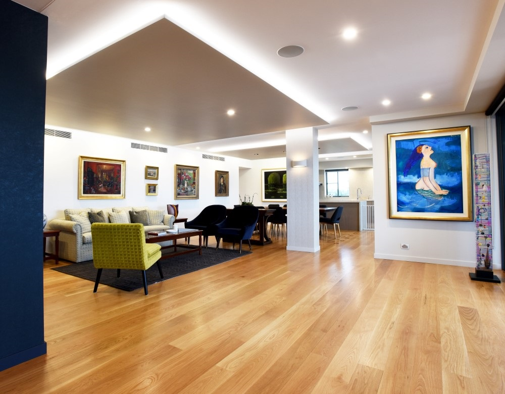 Newstead Penthouse Interior Design