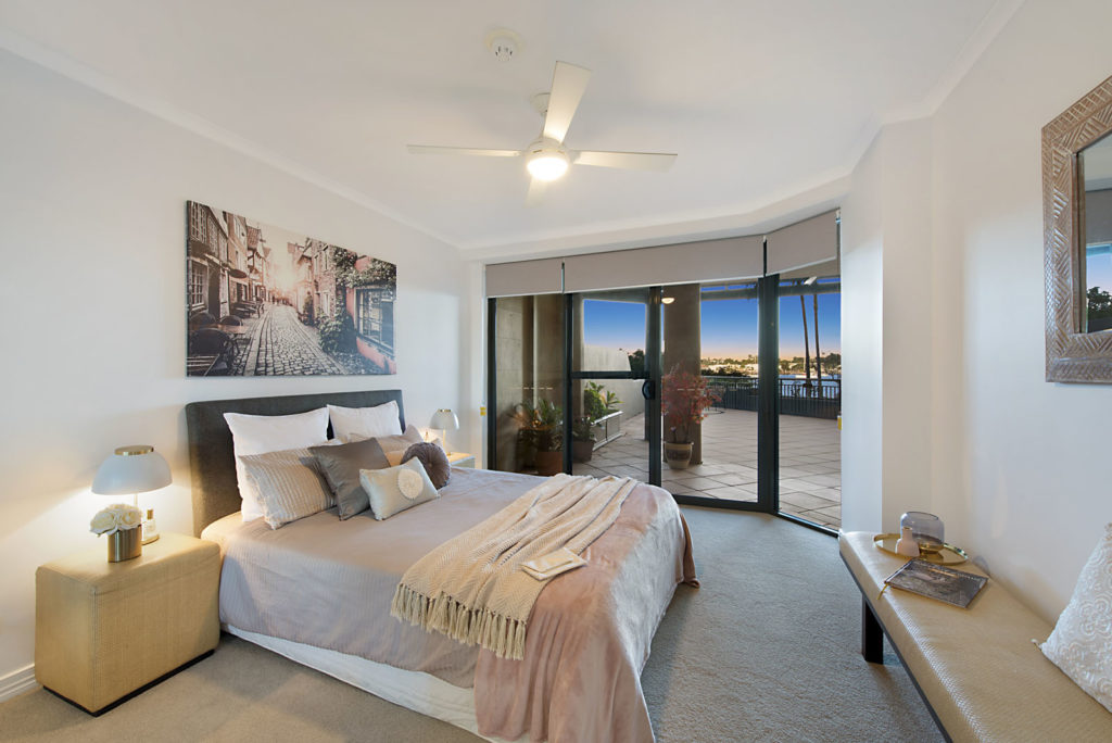 Newstead Apartment Property Styling