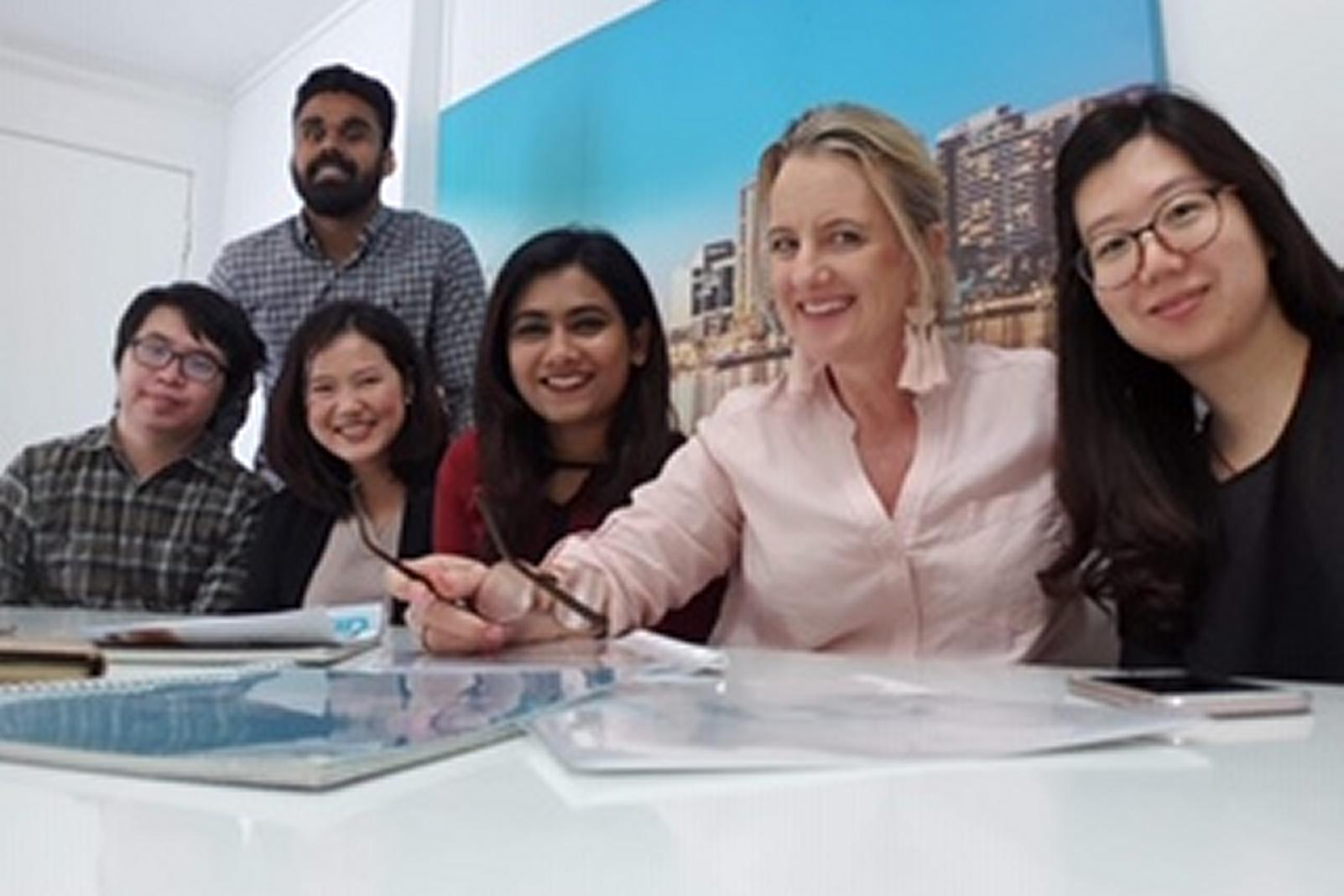 2018 QUT Masters of Business Students